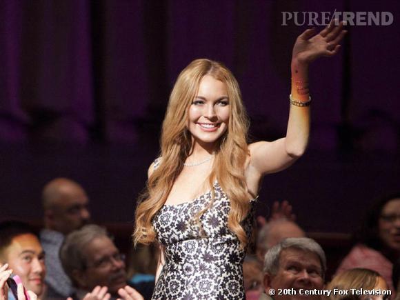 Lindsay Lohan se moque un peu d'elle même dans la série Glee.