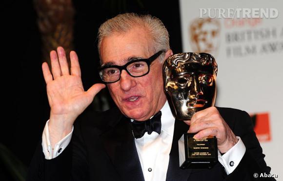 Martin Scorsese, récompensé pour l'ensemble de sa carrière.