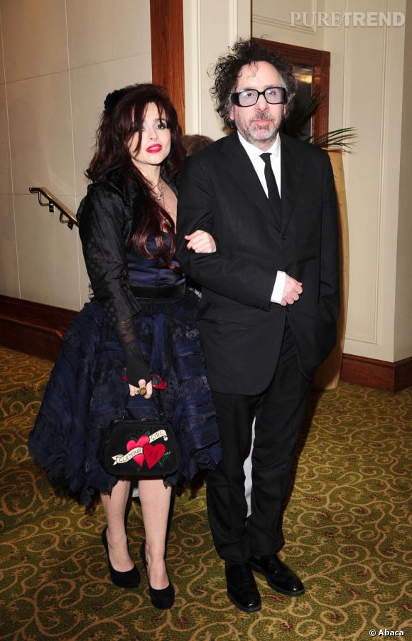 Helena Bonham Carter et Tim Burton, l'art de la décadence.