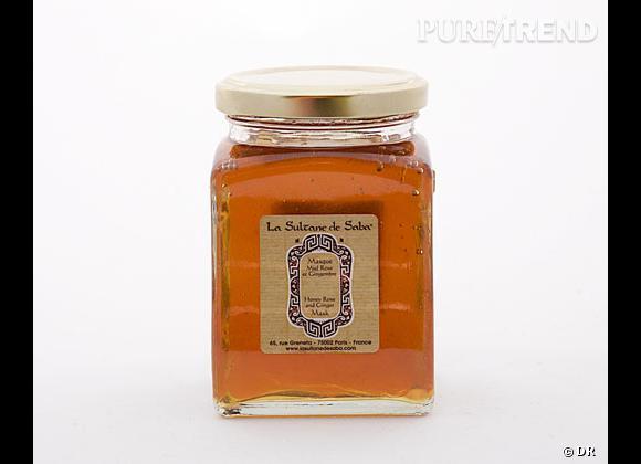 Pour une peau douce et hydratée. Masque au miel de La Sultane de Saba, 30 €.