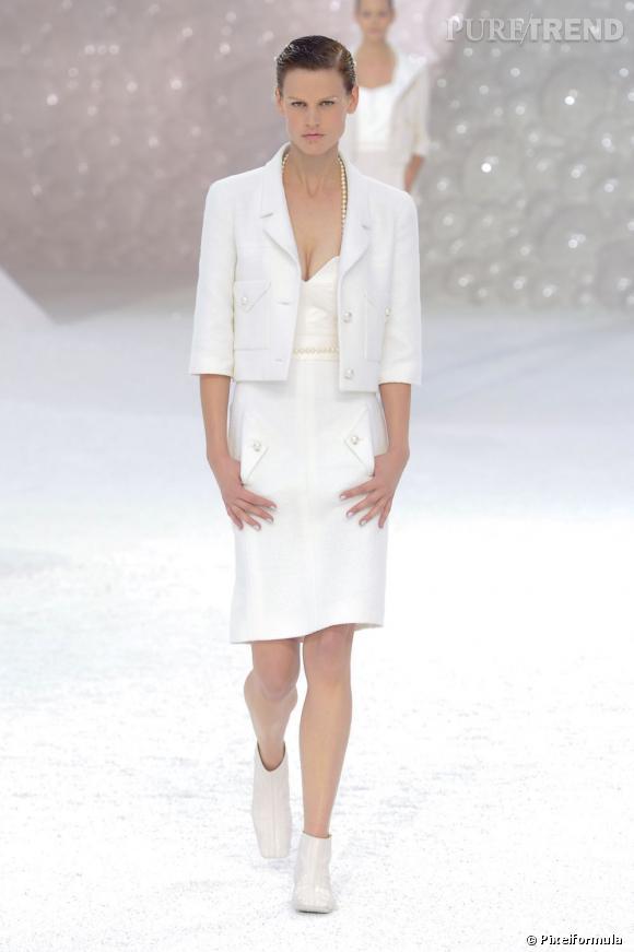 Chanel, défilé Printemps-Eté 2012.