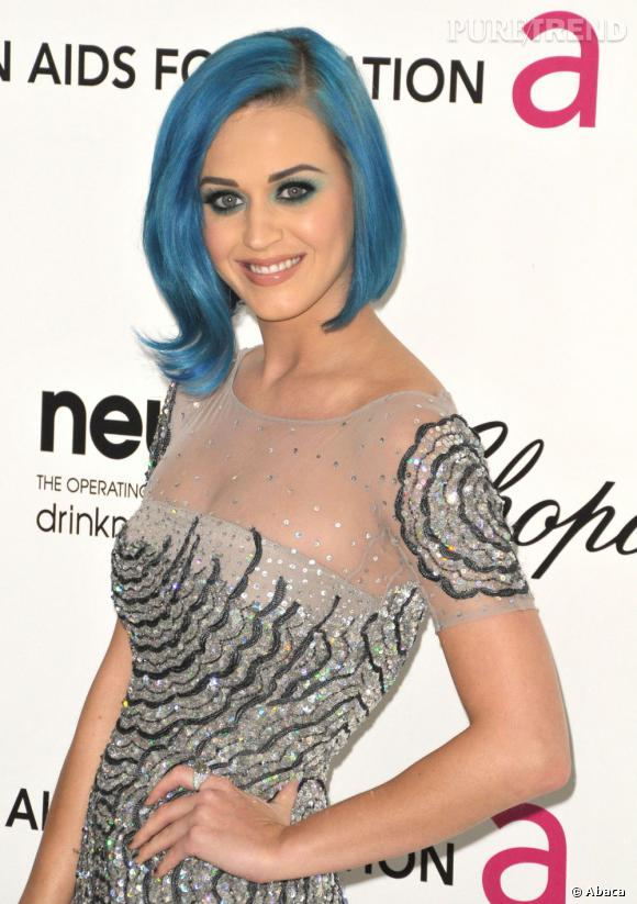 Katy Perry à la soirée de la fondation Elton John organisée en marge des Oscars 2012.