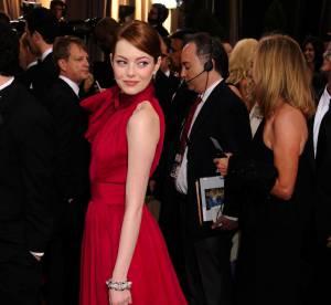 Oscars 2012 : Emma Stone, doublement sensuelle