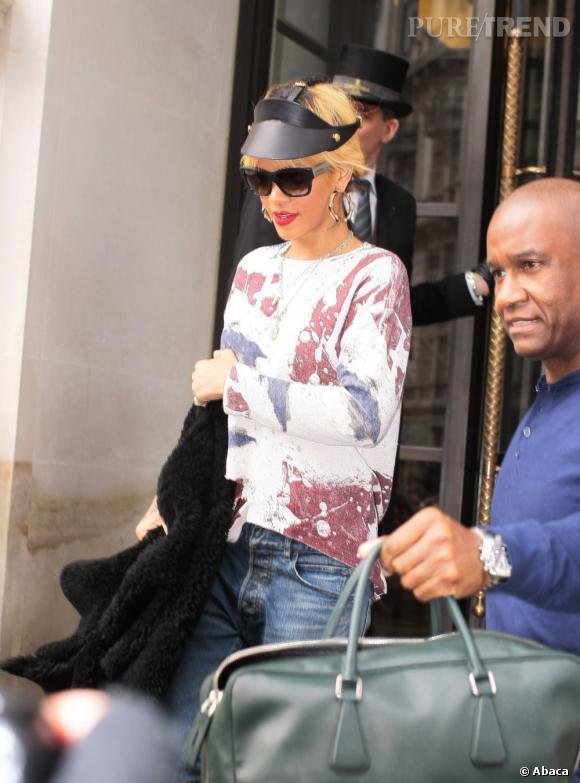 Rihanna fait sensation à Londres.