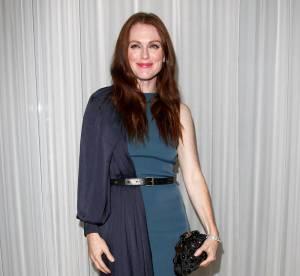 Julianne Moore Vs Tilda Swinton : la robe bicolore Lanvin