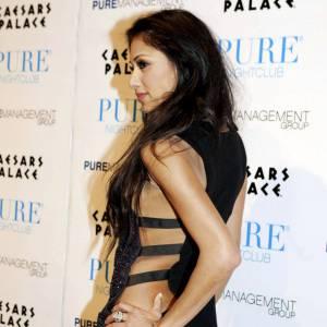 Nicole Scherzinger bien sanglée.
