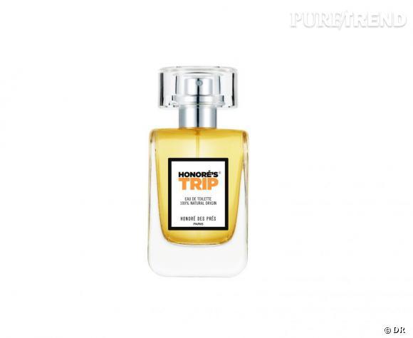 Ce printemps, on se met au vert grâce aux cosmétiques bio.  Parfum Honoré's Trip d'Honoré des Prés, 96 euros (100 ml), 56 euros (50 ml)