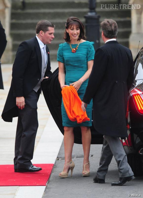 Les mariages :   Quand on est un Cameron, on est forcément convié aux mariages princiers. La preuve ici, lors de l'union de Kate et William. Classe.