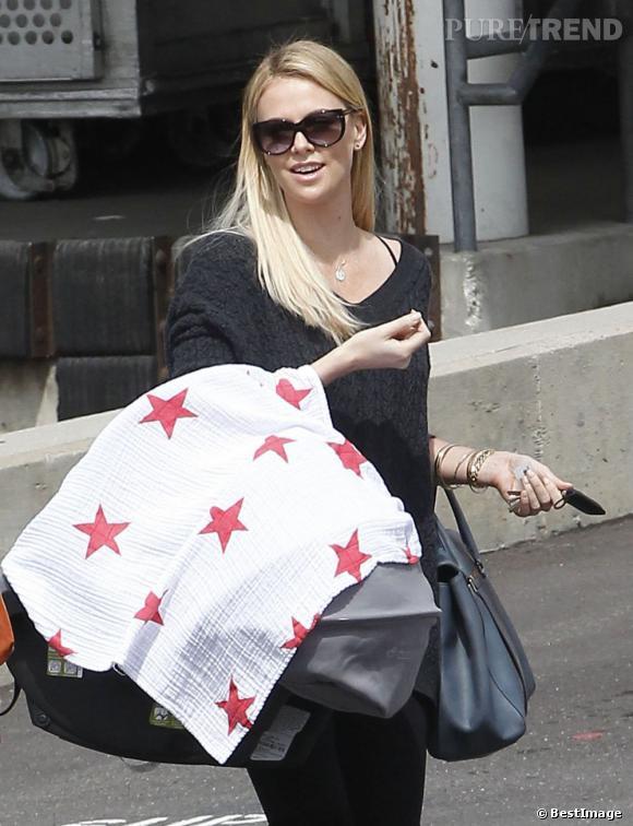 Charlize Theron, première sortie avec son fils Jackson à Hollywood.
