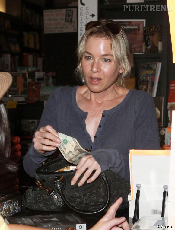 Renee Zellweger a pris un coup de chaud. Oui il faut payer !