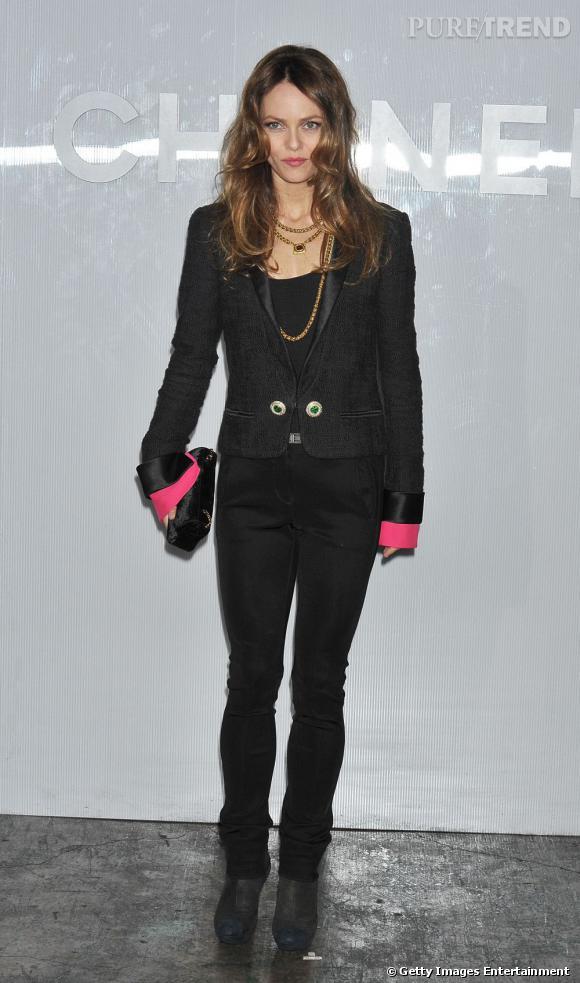 Vanessa Paradis, coup double pour Chanel.