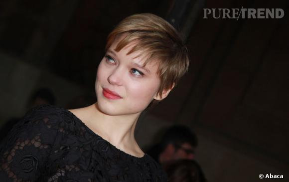 Léa Seydoux affiche une nouvelle coupe mutine depuis quelques semaines.