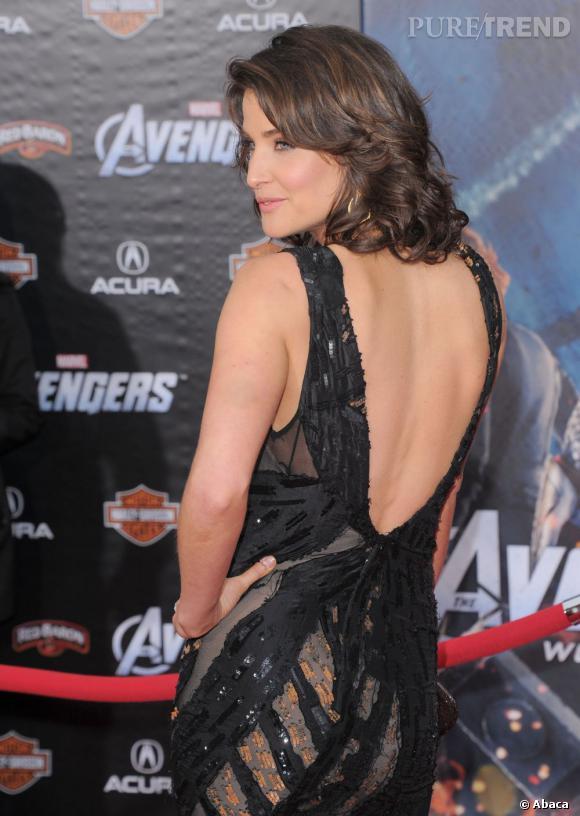 """Cobia Smulders à l'avant-première du film """"The Avengers""""."""