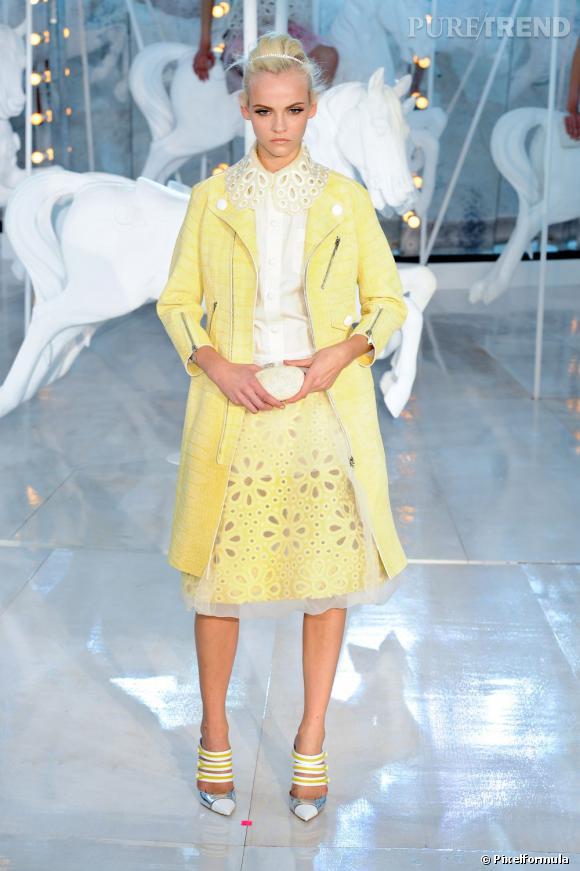 Défilé Louis Vuitton printemps-été 2012