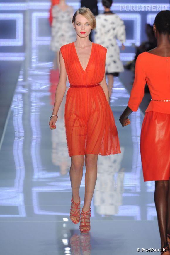Défilé Christian Dior printemps-été 2012