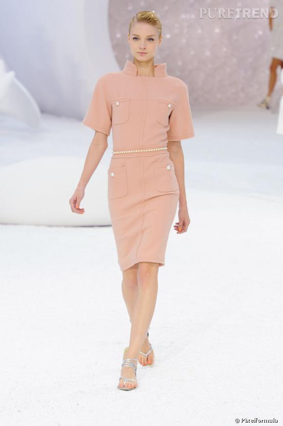 Défilé Chanel printemps-été 2012