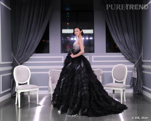 Défilé Christian Dior Haute Couture printemps-été 2012 à Shanghai.