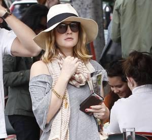 Drew Barrymore, enceinte et farniente