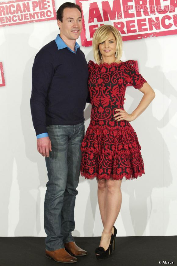 Chris Klein et Mena Suvari, deux acteurs phare du film.