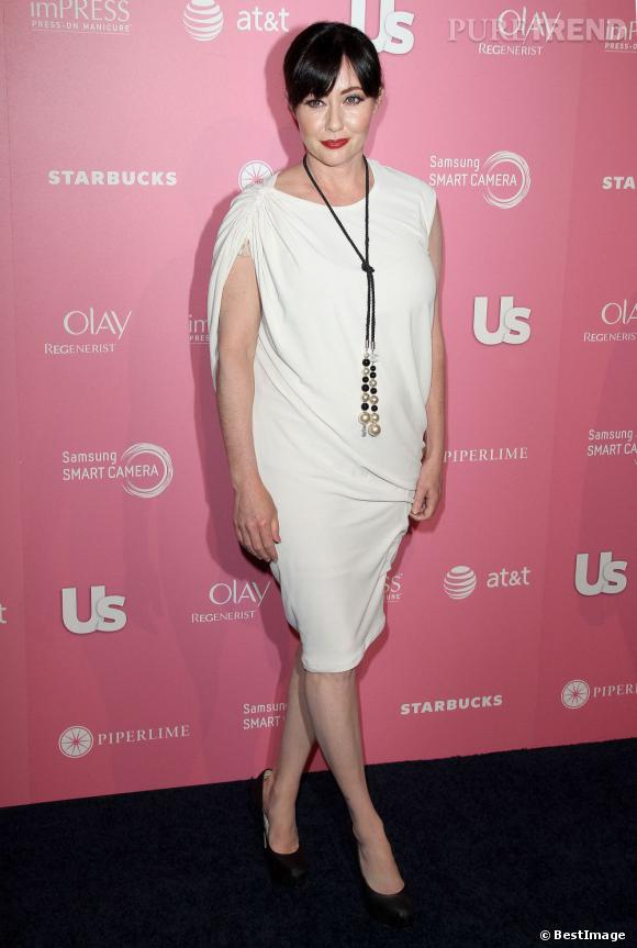 Shannen Doherty à l'évènement US Weekly Hot Hollywood Party 2012 à Los Angeles.