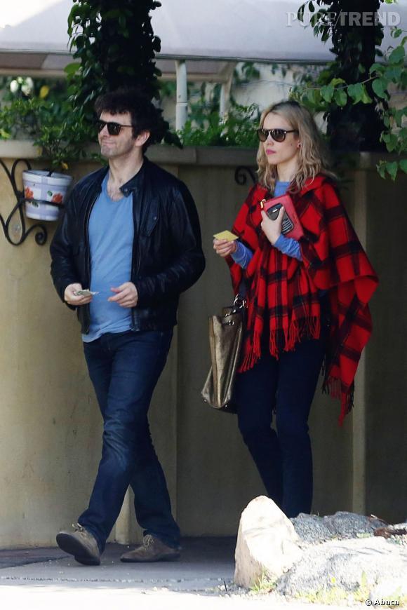 Rachel McAdams et son fiancé Michael Sheen.