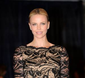 Charlize Theron, belle dentelle