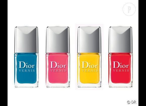 La collection Summer Mix de Dior, une ôde à l'été dont on a hâte de parer nos ongles.