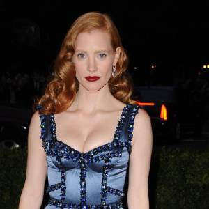 Jessica Chastain en Louis Vuitton.