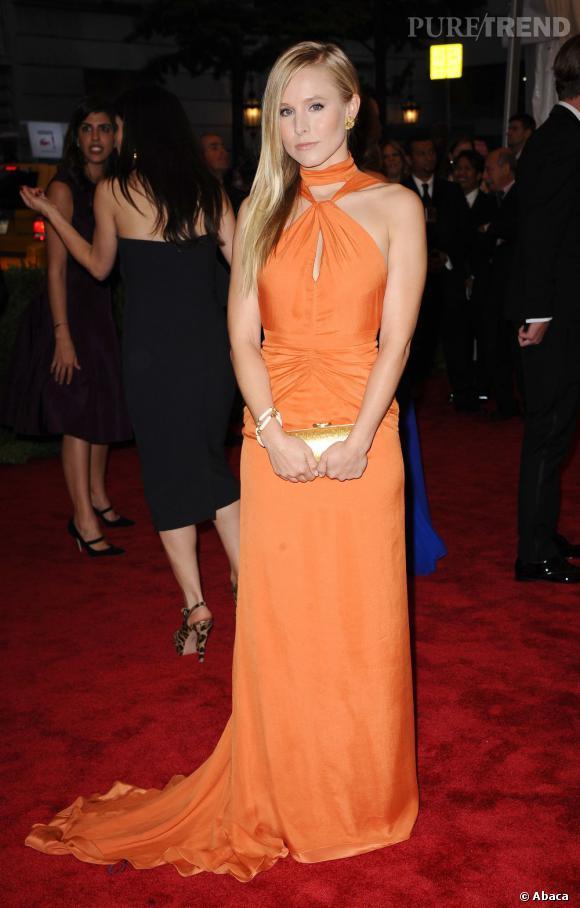 Kristen Bell en Tommy Hilfiger.
