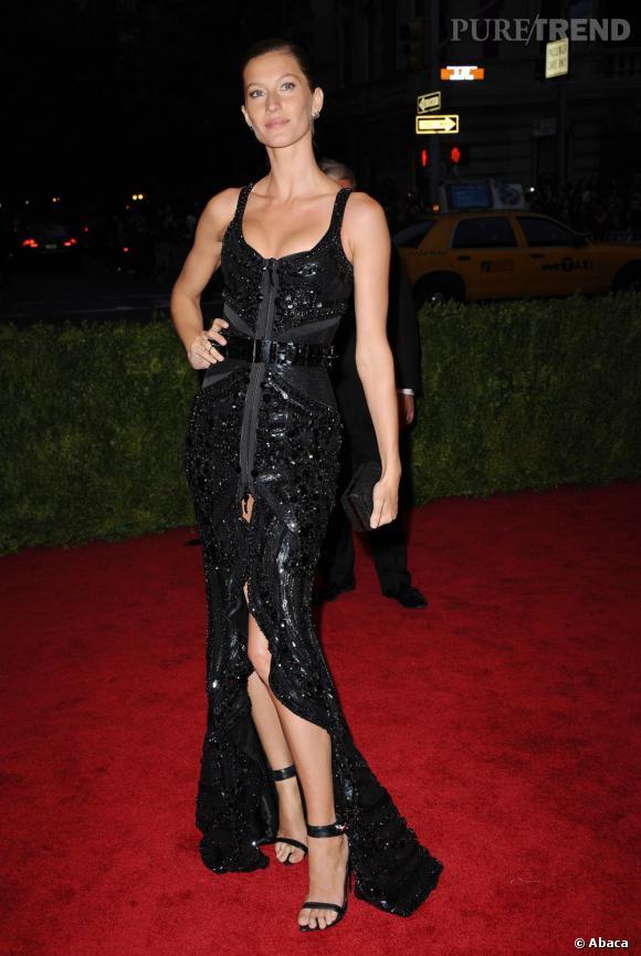 Gisele Bundchen en Givenchy.