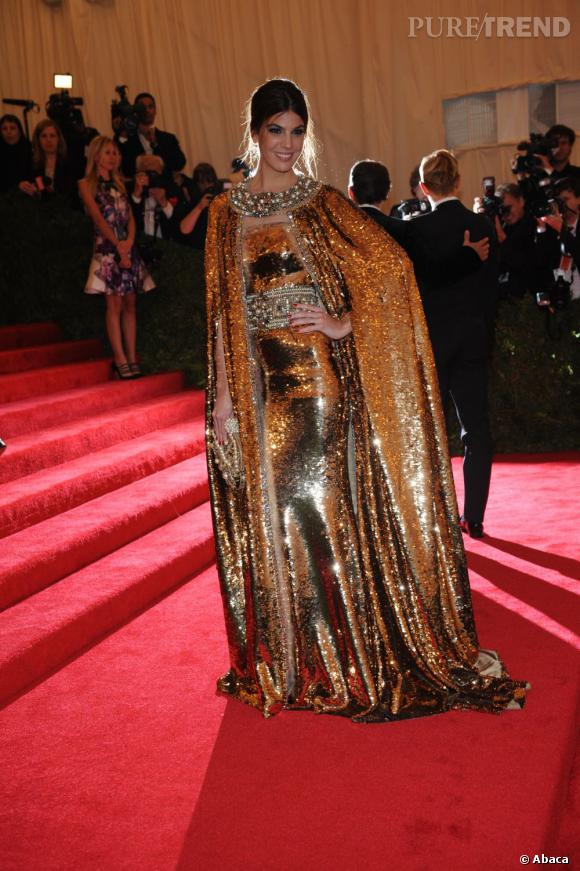 Bianca Brandolini d'Adda en Dolce & Gabbana.