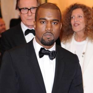 Kanye West en Givenchy.