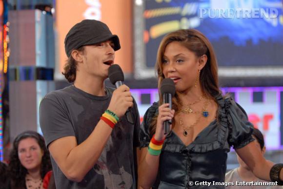Info ou intox ?  Vanessa Minnilo et Orlando Bloom en couple  en 2005  ? L'acteur dément toute romance.
