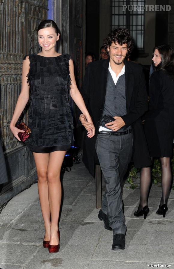 Jeunes, beaux, riches, leurs carrières marchent à merveille. Orlando Bloom et Miranda Kerr ont officialisé leur relation début 2008 et ne se sont plus jamais lâchés. Parents d'un petit Flynn, leur bonheur en devient presque agaçant.