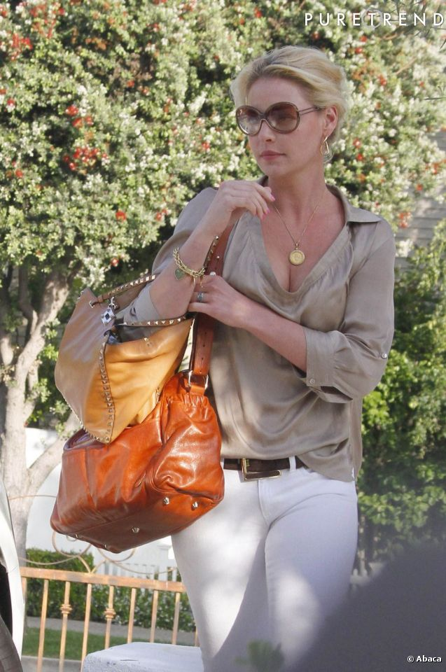Katherine Heigl à Los Angeles.