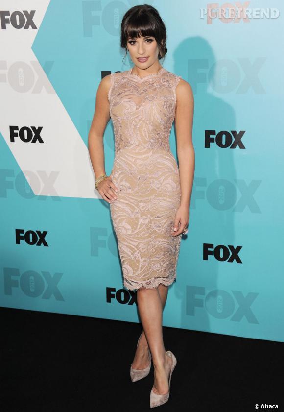 Lea Michele à l'évènement 2012 Fox Upfront Presentation le 14 mai à New York.