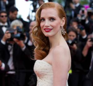 Cannes 2012 : Jessica Chastain, sublime rouquine