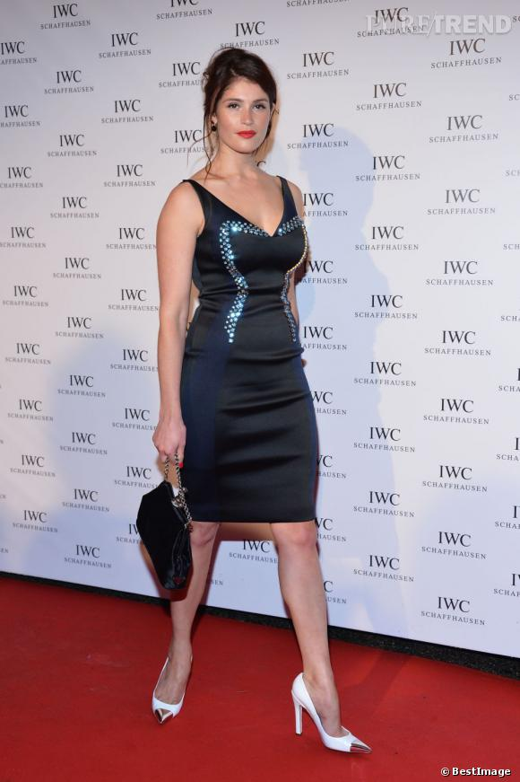 Gemma Arterton lors de la soirée Iwc Filmakers Dinner à l'Eden Roc à Cannes.