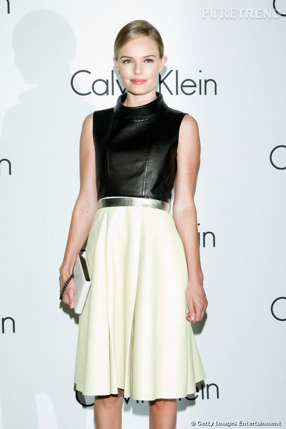 Kate Bosworth, ancienne égérie de Calvin Klein, porte encore la marque à merveille