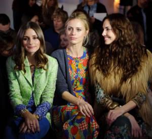 Rédactrice pour Vogue UK depuis 2011, Laura Bailey se montre très attentive et très lookée lors des défilés.