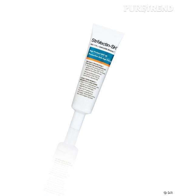 Crème de jour StriVectin SH Protection Anti-âge SPF 30. En vente en exclusivité chez Séphora.