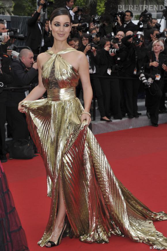 Avant de jouer le rôle de James Bond Girl en octobre, Berenice Marlohe se rêve en Golden Girl.