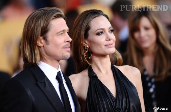 "Brad Pitt et Angelina Jolie alias ""Brangelina""."