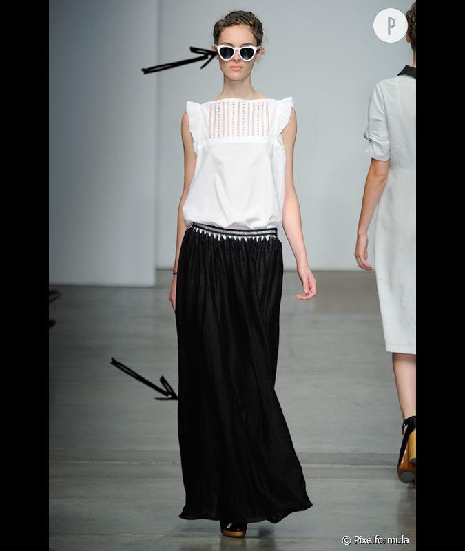 comment adopter la jupe longue cet t 2012 comme chez. Black Bedroom Furniture Sets. Home Design Ideas