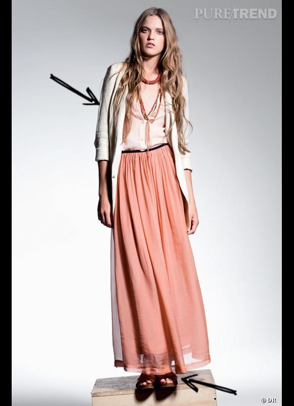 comment adopter la jupe longue cet t 2012 comme chez forte forte on mixe jupe longue et. Black Bedroom Furniture Sets. Home Design Ideas
