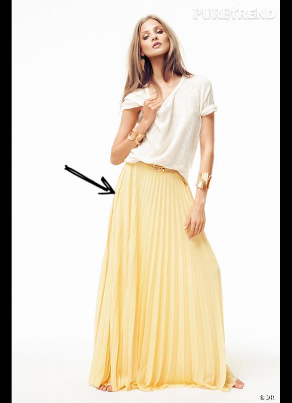 Comment adopter la jupe longue cet été 2012 ? Comme chez