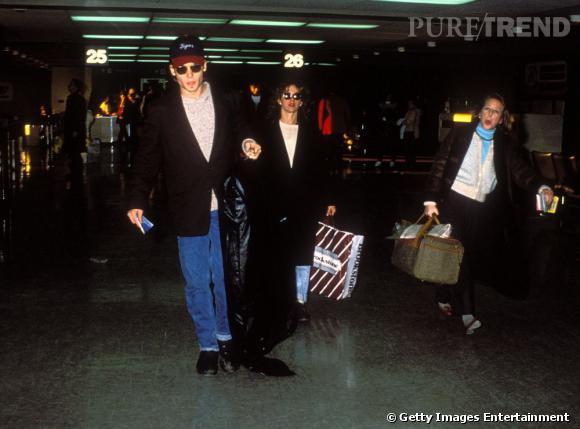 """1989 - Jennifer Grey  : Après sa rupture avec Sherilyn Fenn, l'acteur tombe sous le charme de Frances 'Bébé' Houseman, l'héroïne de """"Dirty Dancing"""" interprétée par Jennifer Grey. Comme les choses vont vite à Hollywood, ils se fiancent seulement 2 mois après leur rencontre puis finissent par se séparer."""