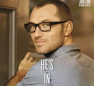 Jude Law, l'homme moderne selon Vogue Eyewear for men