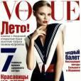 Magdalena Frackowiak, marin sexy pour le Vogue Russie