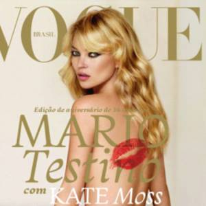 Kate Moss nous dévoile ses tatouages sous l'objectif de son ami le photographe Mario Testino.